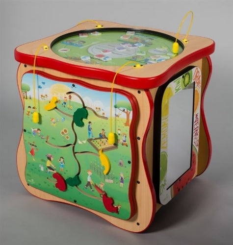MyPlate Activity Island Play Cube