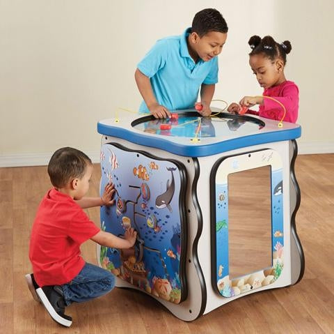Seascape Kids Activity Island Play Cube