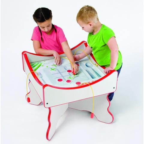 Peas & Carrots Healthy Options Kids Activity Play Table