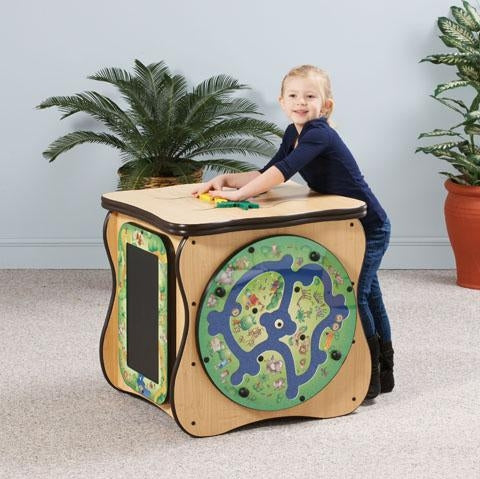 Safari Kids Activity Play Island Play Cube