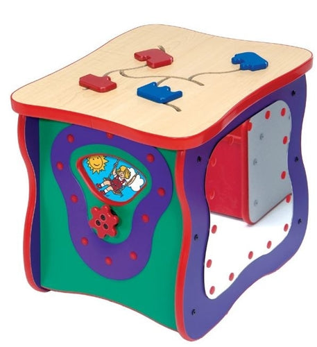 Toddler Oasis Activity Island Play Cube