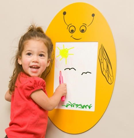 Busy Bee Write On Panel Wall Toy
