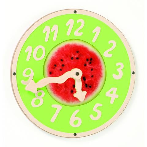 GIANT CLOCK(Watermelon Wiggle) Wall Toy