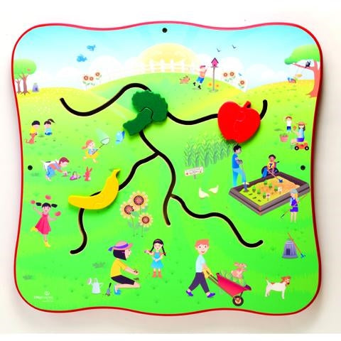 Community Garden Wall Activity Toy