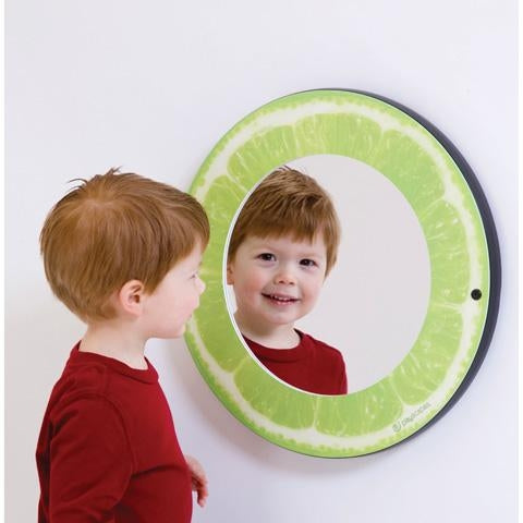 CITRUS MIRRORS LIME Wall Mirror