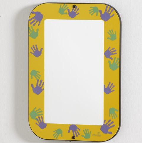 GOLDENROD HANDS-ON MIRROR