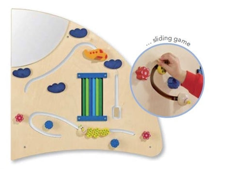 Sensory Learning Activity Wall Panels by HABA - 3 Piece Set