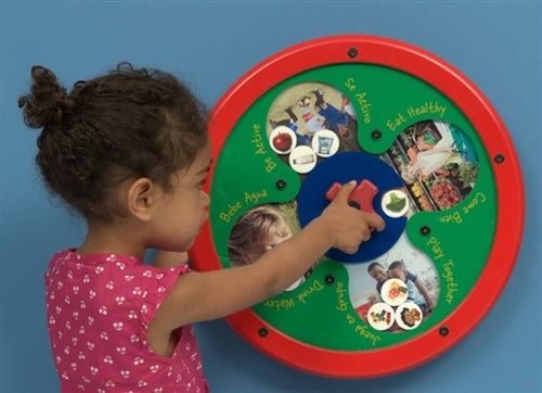Wellness Wins Wall Game Wall Toy