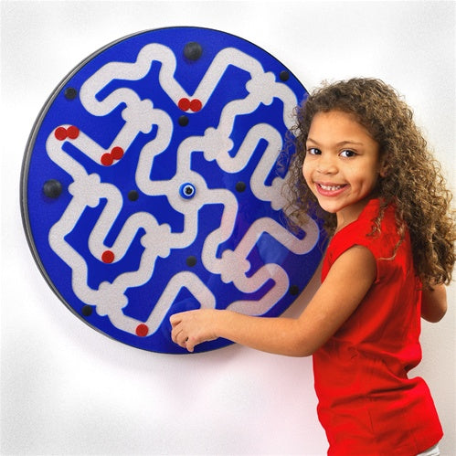Dizzy Disks Amazer Wall Panel Toy, Made in USA