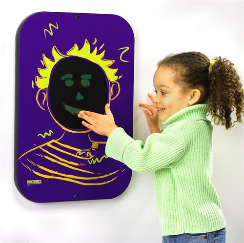 Playsa Face Boy Wall Panel-Finger Painting Toy