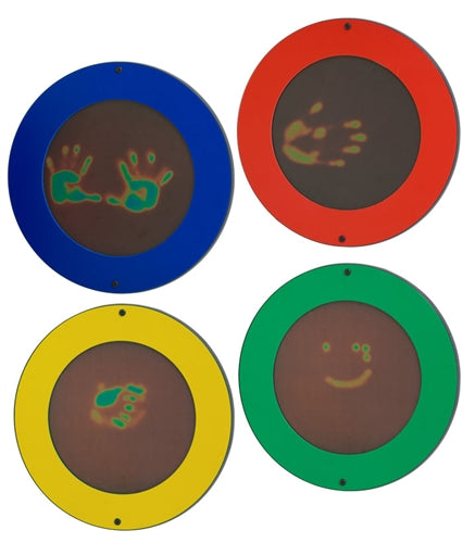 Magic Circles Wall Panel-Finger Painting Toy