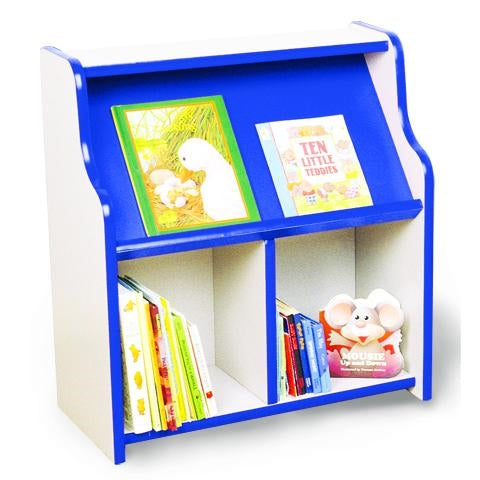 Kids Wooden Bookcase-Multi Colors