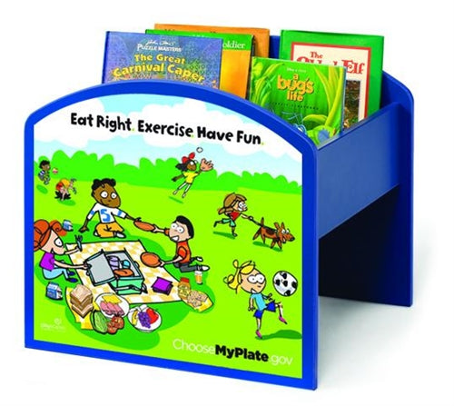 MyPlate Kinderbox Book Browser / Media Storage