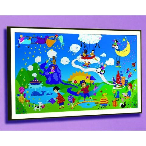 HARMONY PARK FRAMED ART