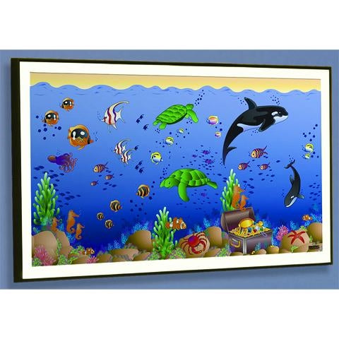 SEASCAPE FRAMED ART