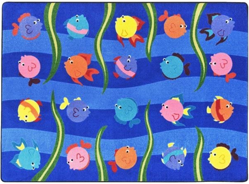 Friendly Fish Kids Play Area Carpet