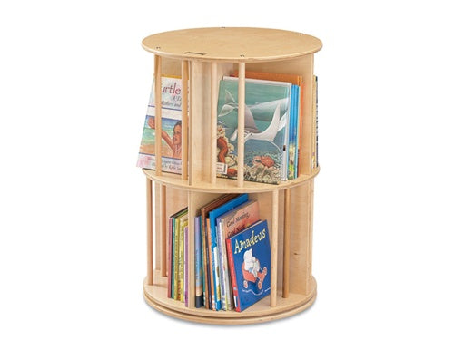 BOOK-go-ROUND-Eight Sectioned Revolving Library Bookdisplay