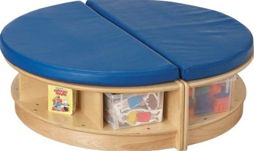 KIDS READ-a-ROUND - ISLAND SEATING AREA-Red/Blue
