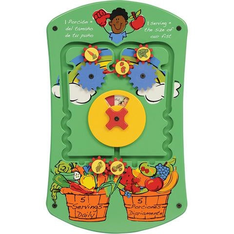 Fruits and Veggies Wall Game Wall Toy