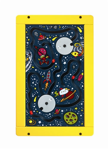 Space Game Wall Panel Activity Toy