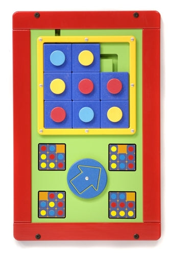 Tic Tac Wall Game Activity Toy