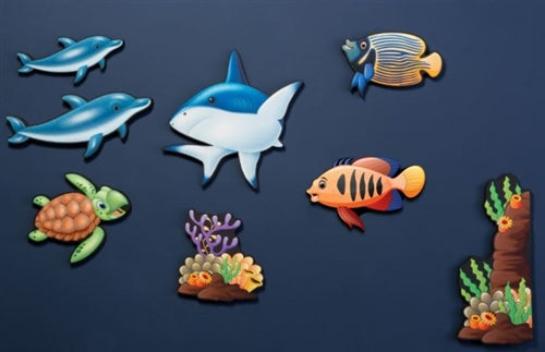 Sea Life Noise Absorption Wall Panel Set