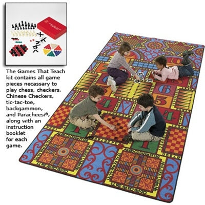 Kids Carpets-Games That Teach Kids Activity Rug