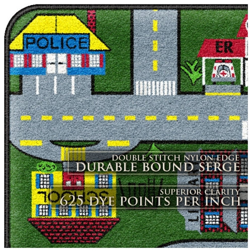 Kids Carpets-Places-To-Go Kids Activity Rug
