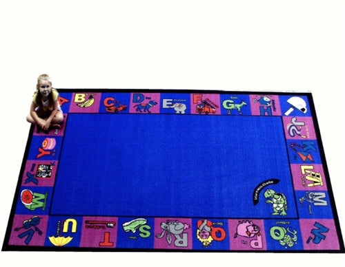Kids World Carpets-Alphabet Charlie Children's Educational Rug