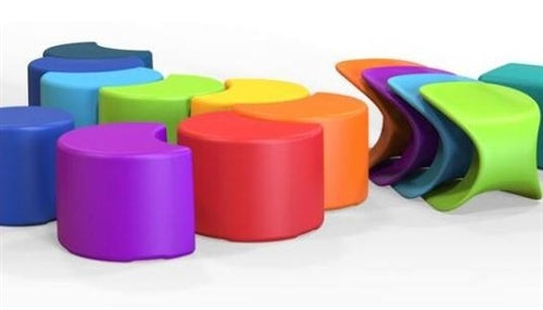 Eco Children's Seating Collection-Cube