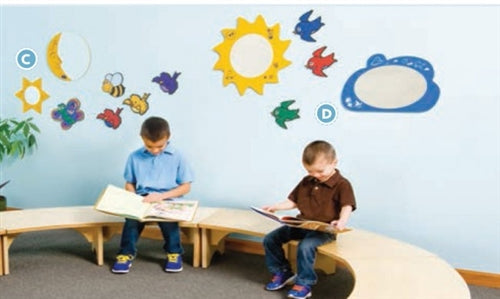 Children's Area Wall Decor 7 Piece Set