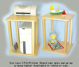 Kids Lamp Table-Printer Stand