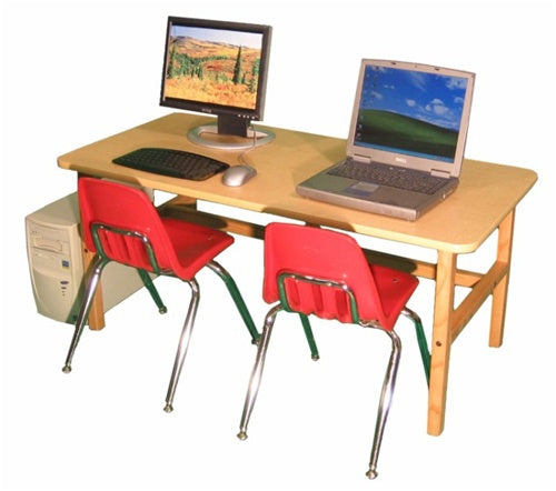 Kids Computer Furniture-Side by Side Kids Computer Desk