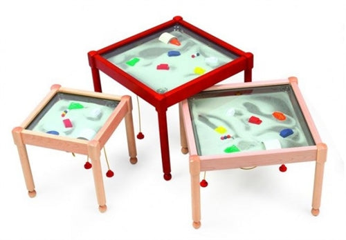 Soccer Themed Square Magnetic Kids Play Sand Table