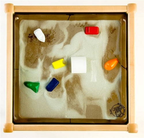Square Magnetic Kids Play Sand Table