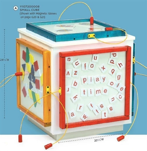Magnetic Mix-Ups Wall Game Wall Toy - Letters