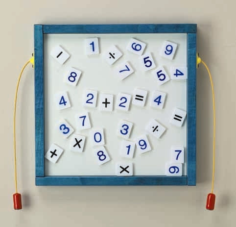 Magnetic Mix-Ups Wall Game Wall Toy - Numbers