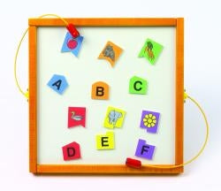 Magnetic Mix-Ups Wall Game Wall Toy - Letter Match