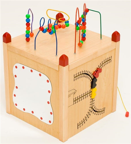 Funny Face Island /Play Cube-5 Sides of Play-Made in USA