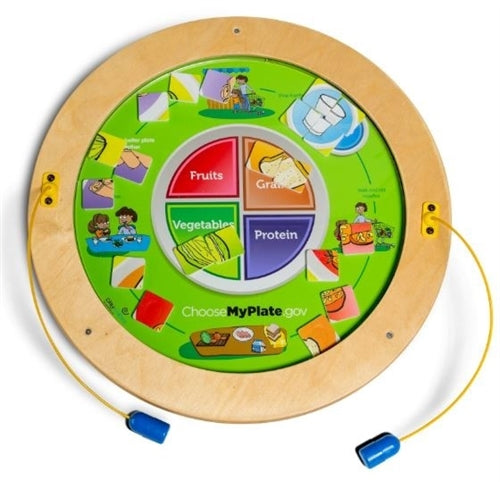 Round Magnetic Wall Game Wall Toy - MyPlate