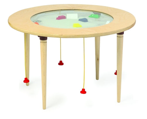 Round Magnetic Sand Table Kids Activity Play Table