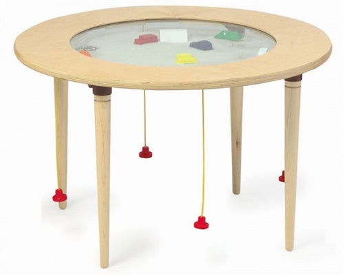 Ocean Themed Round Magnetic Sand Table