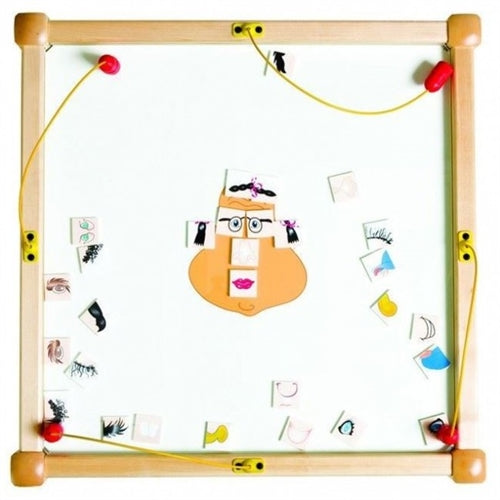 Funny Face Magnetic Square Kids Activity Play Table