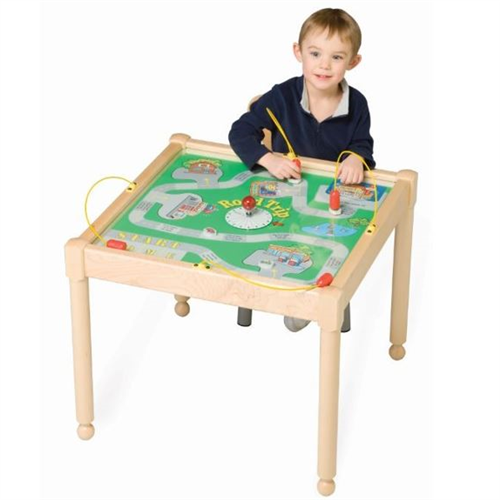 Road Trip Magnetic Square Kids Activity Play Table
