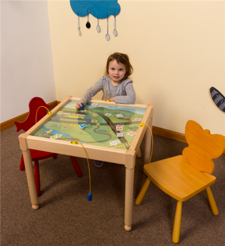 Match & Learn English/Spanish Language Activity Table