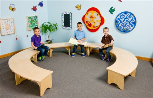 Kids Reading Retreat Bench-Made in USA