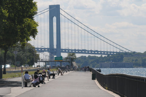 Verrazano Bridge shore park