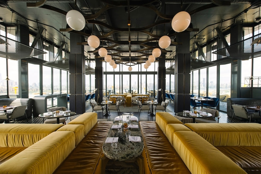 The views are amazing at The William Vale's Westlight. Photo: Eater