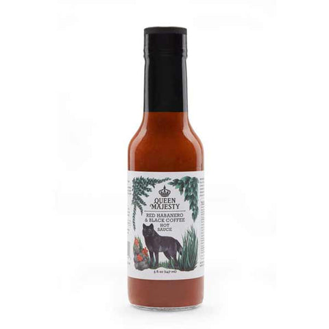 Queen Majesty Habanero & Black Coffee Hot Sauce