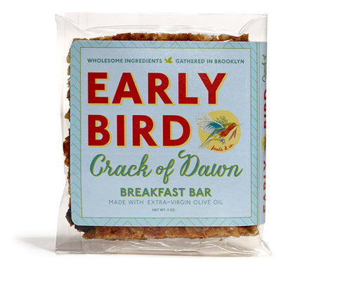 Early Bird Crack of Dawn Granola Bar